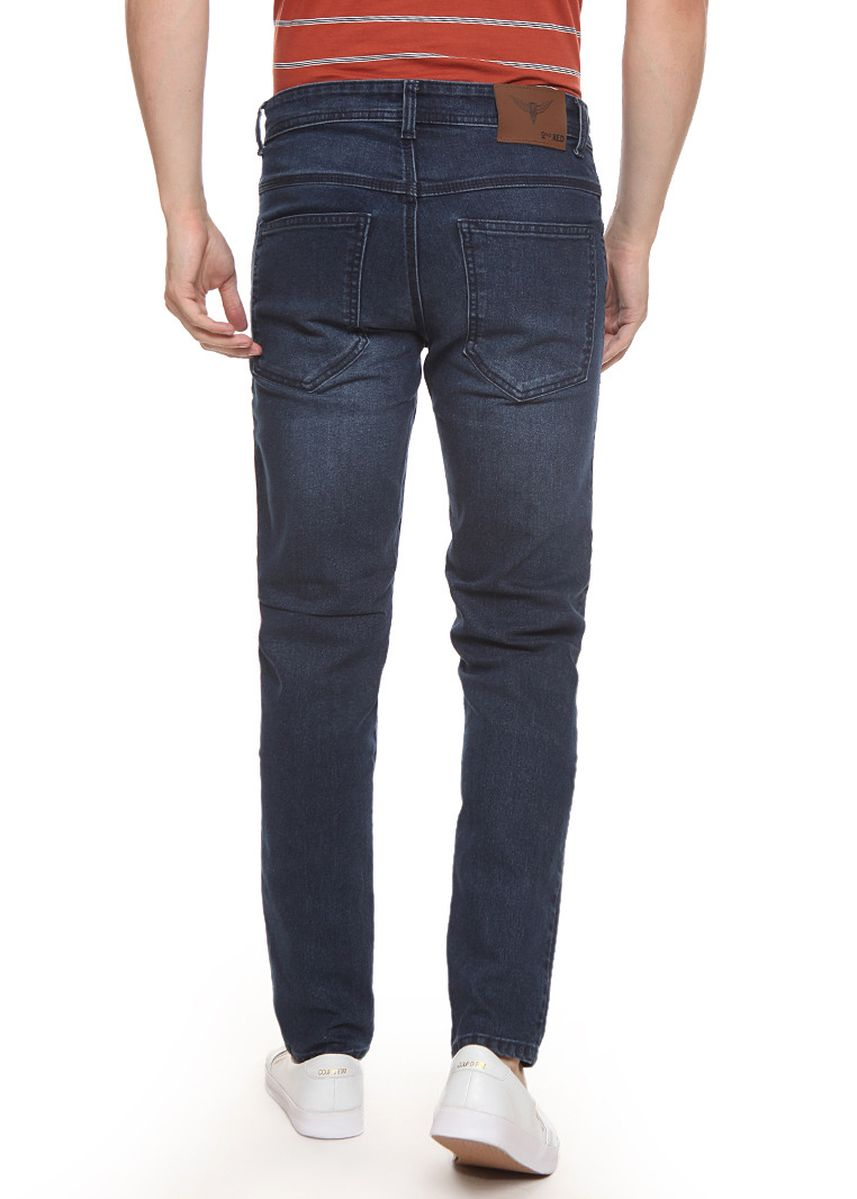 Navy color Jeans . 2Nd RED Celana Jeans Slim Fit Jeans Premium Navy -