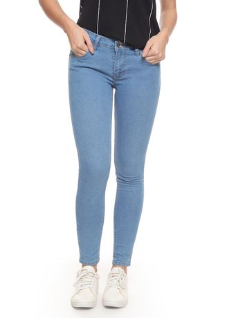 Biru Muda color Celana Jeans . 2RW Vintage Skinny Jeans Light Blue -