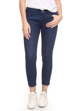 Navy color Jeans . 2RW Jeans Premium Ankle Deep Blue  -