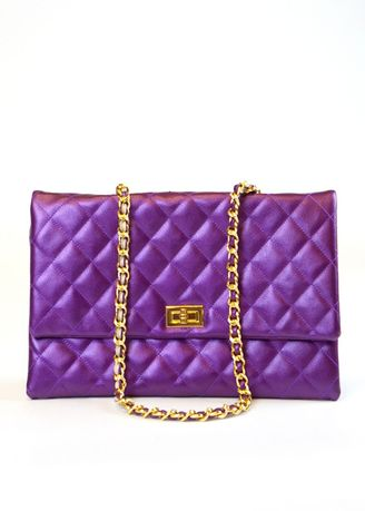 Violet color Sling Bags . Mss Stylists กระเป๋าสะพายไหล่ รุ่น New Runway Fashion -
