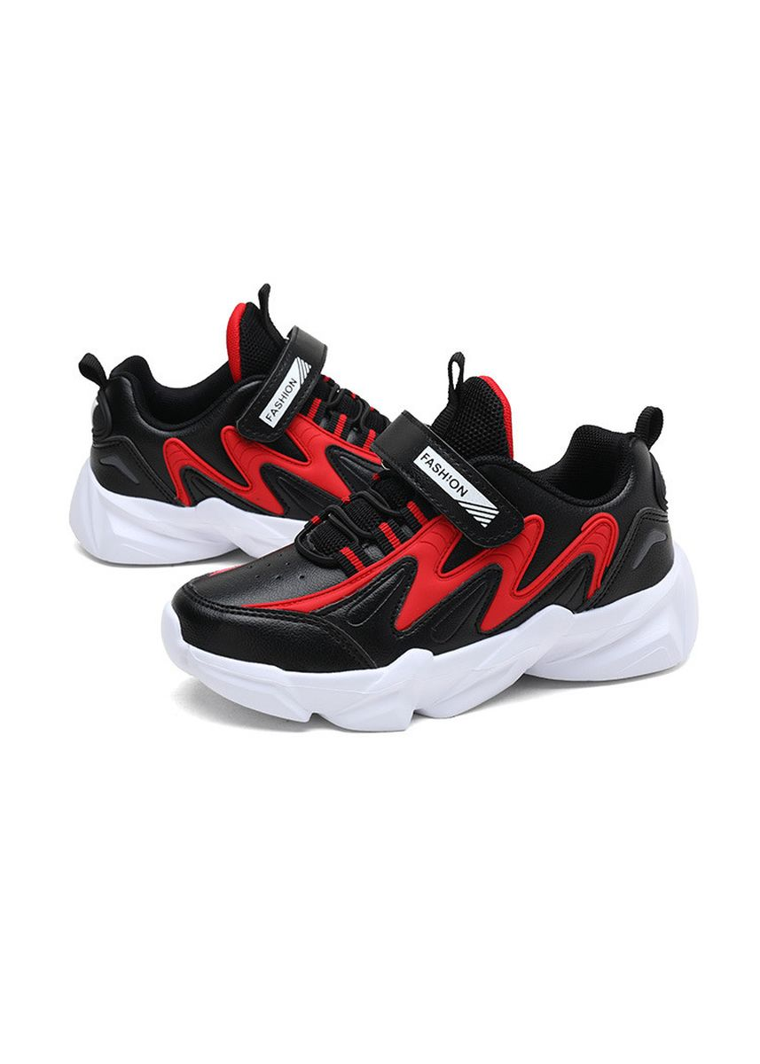 Black color Footwear . Children's Running  Breathable Casual Sports Shoes  -
