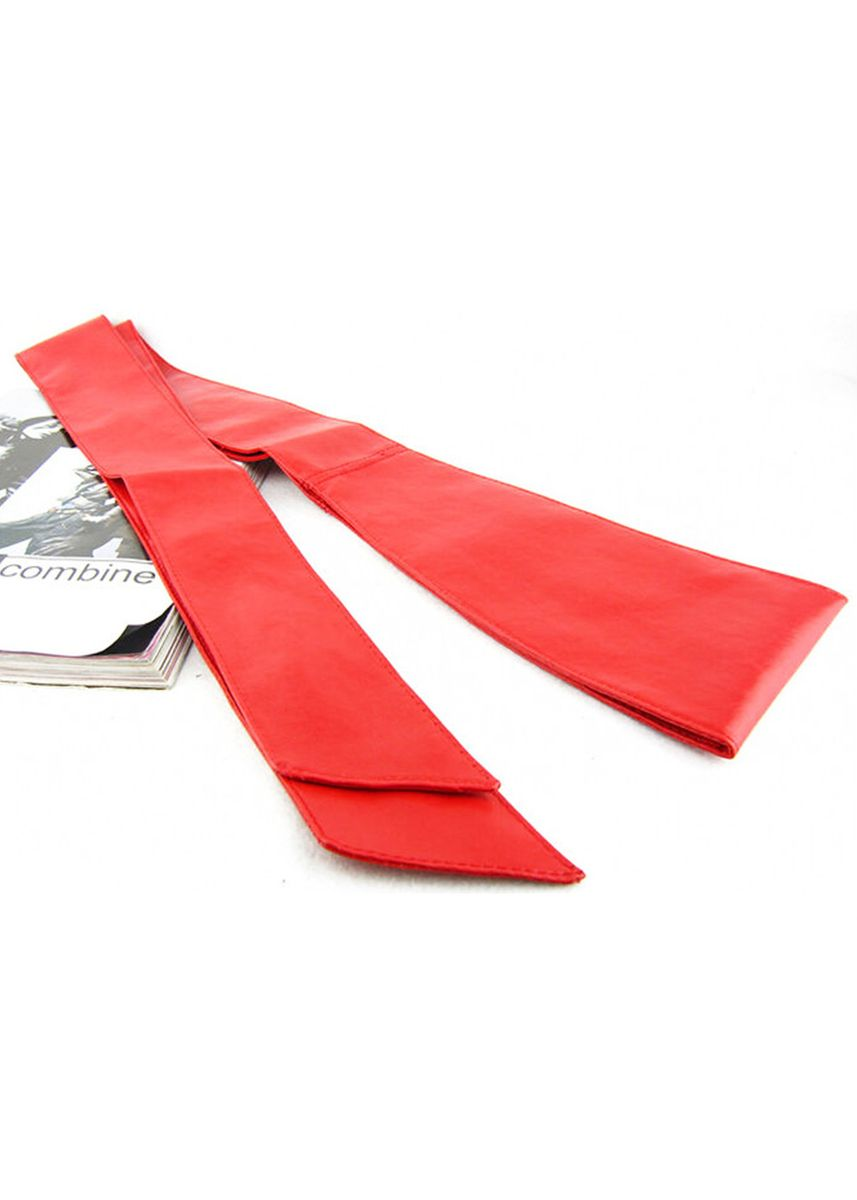 Red color Belts . Bow Wide Belt For Women PU Leather Strap Belts Ceinture Slimming Girdle -