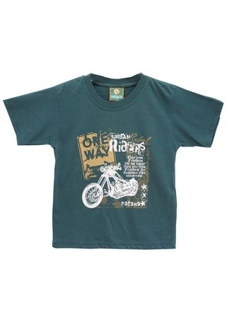 Green color Tops . Natawa T'shirt Anak Youthboy Hijau -