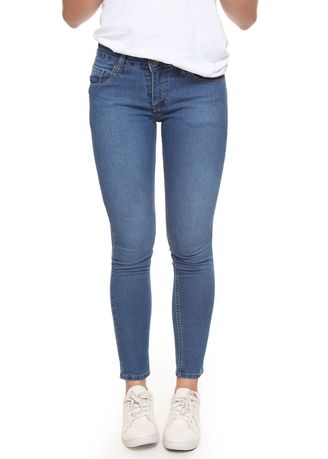 Blue color Jeans . 2Nd RED Jeans Slim Fit Premium Sky Blue -