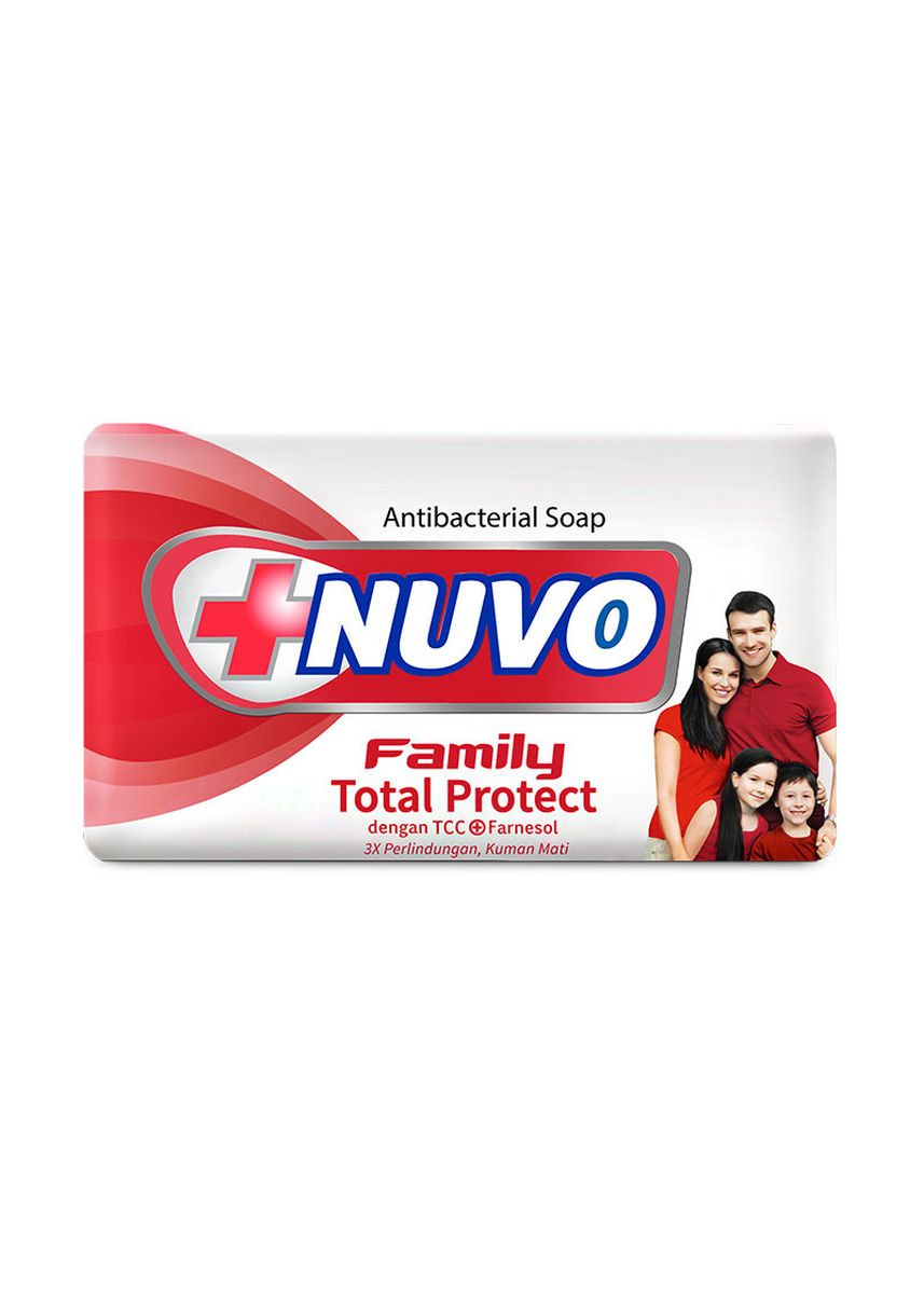 No Color color Personal Care . NUVO BAR SOAP TOTAL PROTECT - MERAH [DUS] -