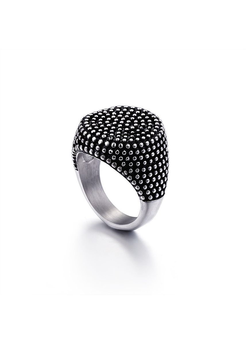 Silver color Rings . Fashion Stainless Steel Vintage Titanium Steel Ring -
