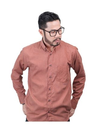 Multi color Casual Shirts . Elevant Shirt Coral -
