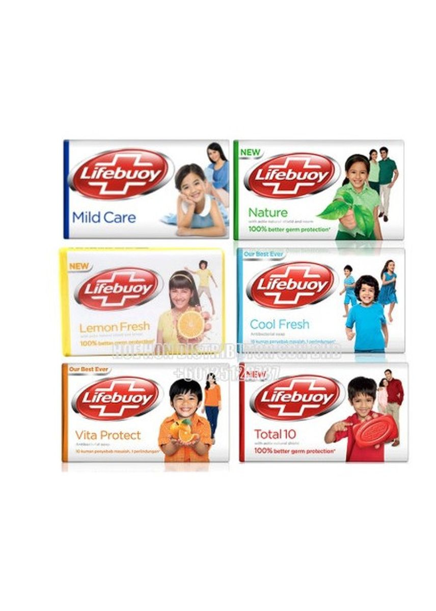 No Color color Washing & Cleaning . LIFEBUOY BAR SOAP MIX VARIANT [DUS] -