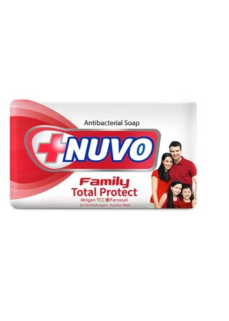 No Color color Washing & Cleaning . NUVO BAR SOAP TOTAL PROTECT - MERAH [DUS] -