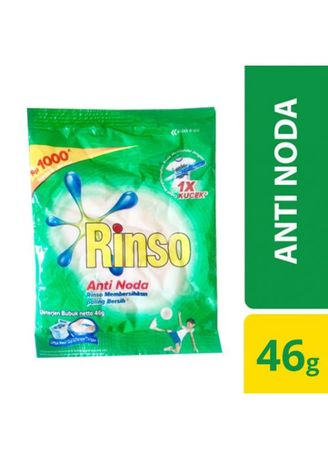 No Color color Washing & Cleaning . RINSO ANTI NODA BUBUK 1000 SACHET [DUS] -