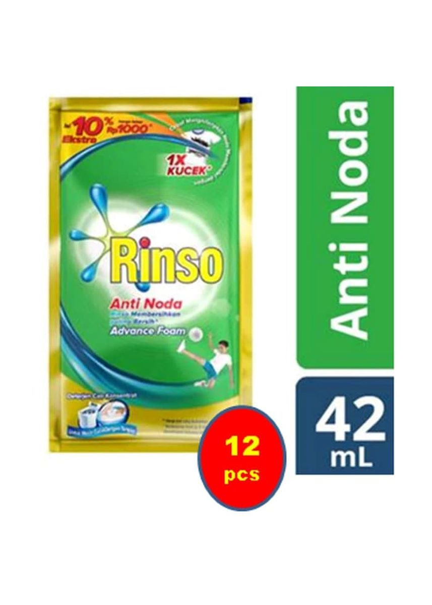 No Color color Washing & Cleaning . RINSO ANTI NODA CAIR 1000 SACHET [DUS] -