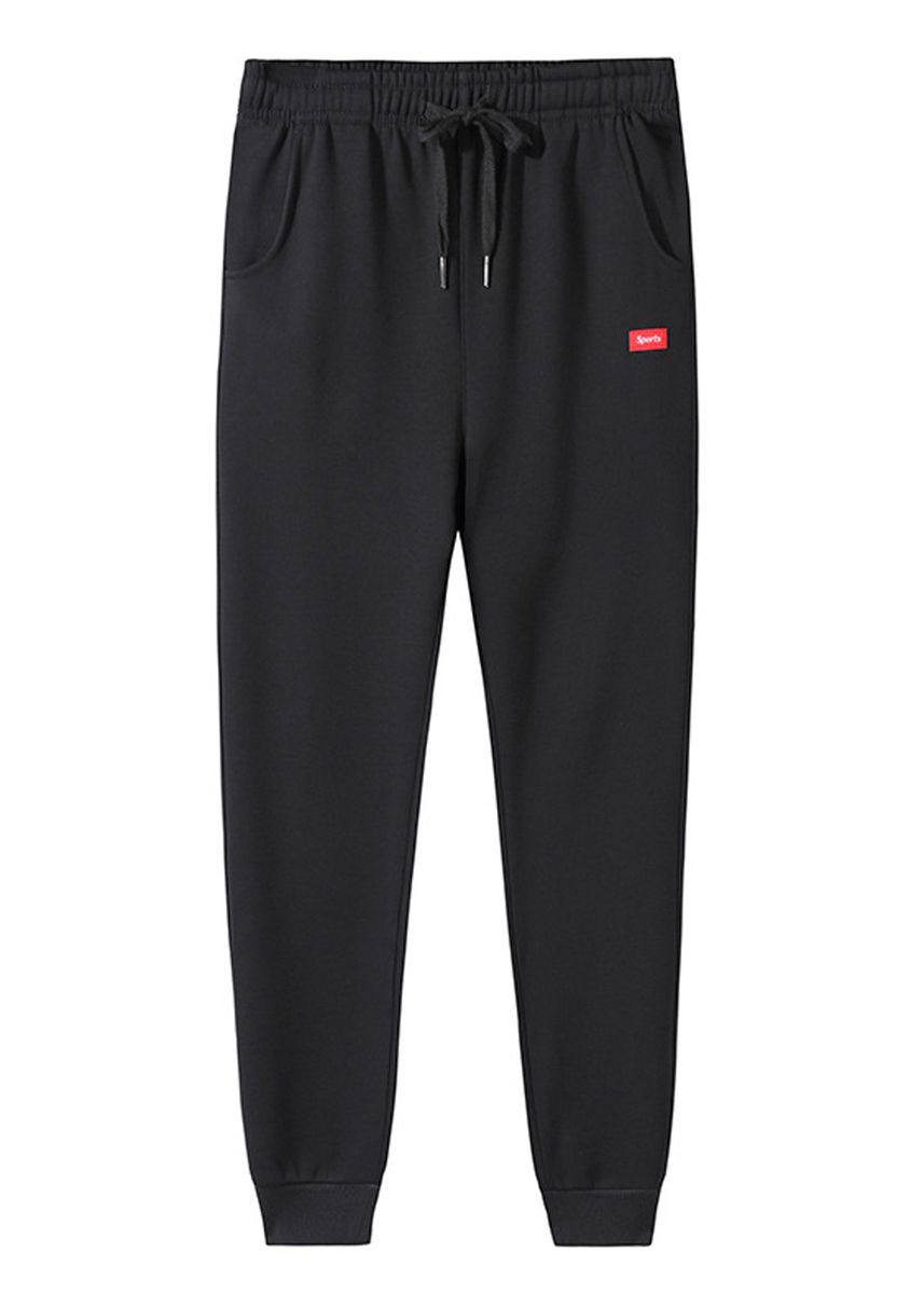 Black color Casual Trousers and Chinos . Sports Men's Casual Trousers Pants -