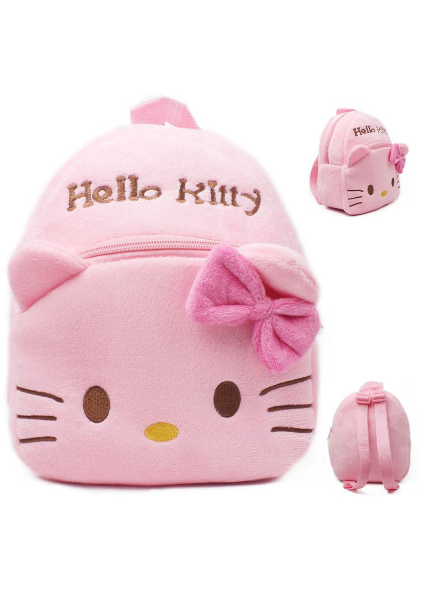 Pink color Bags . Cute Children's Baby Small Bag Girl Backpack Plush Toy Candy 1-2 -