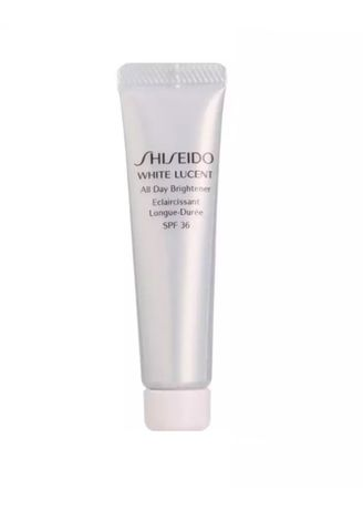 No Color color Whitening & Brightening . Shiseido White Lucent All Day Brightener (Sunblock) SPF 36 7ml -