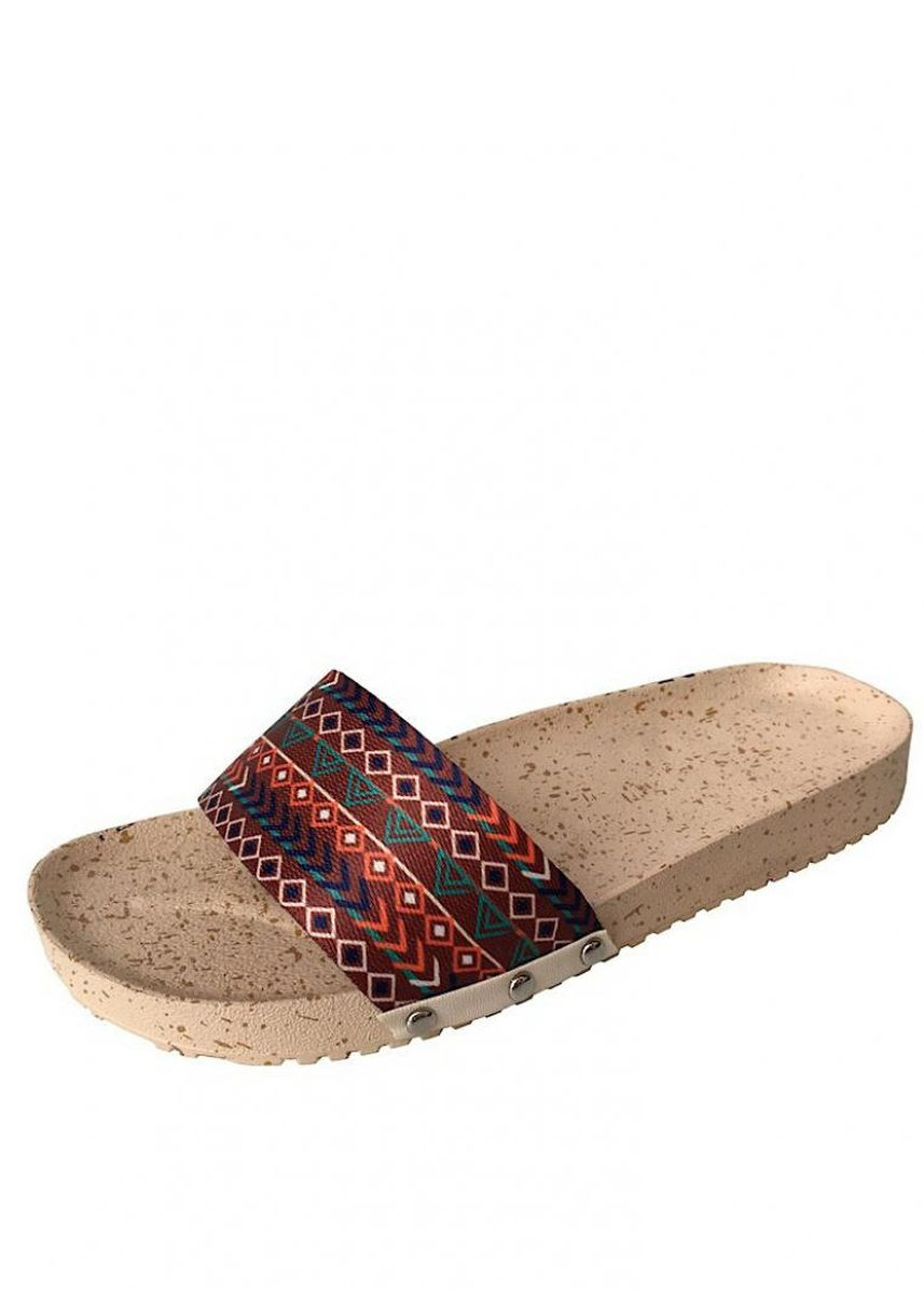 Multi color Flats . LIZA LYN Creations Beulah Slides -