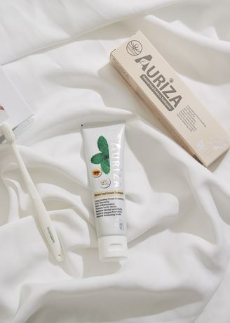 No Color color Personal Care . Auriza Natural Total Extracts Toothpaste -