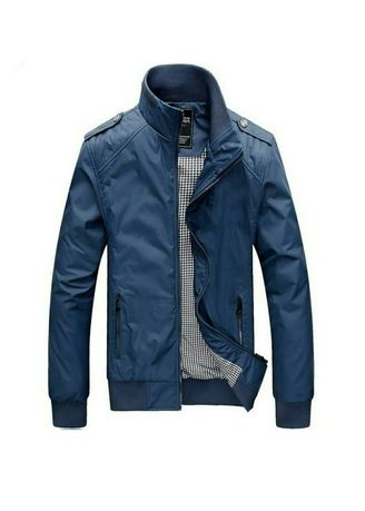 Blue color Outerwear . Brinka - Jaket WP Distro Bandung -
