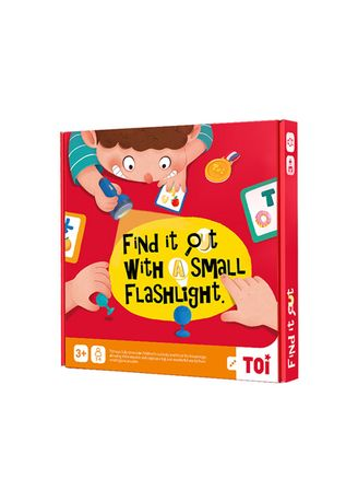 No Color color Toys . Find It Out With A Small Flashlight (3+ yo) -