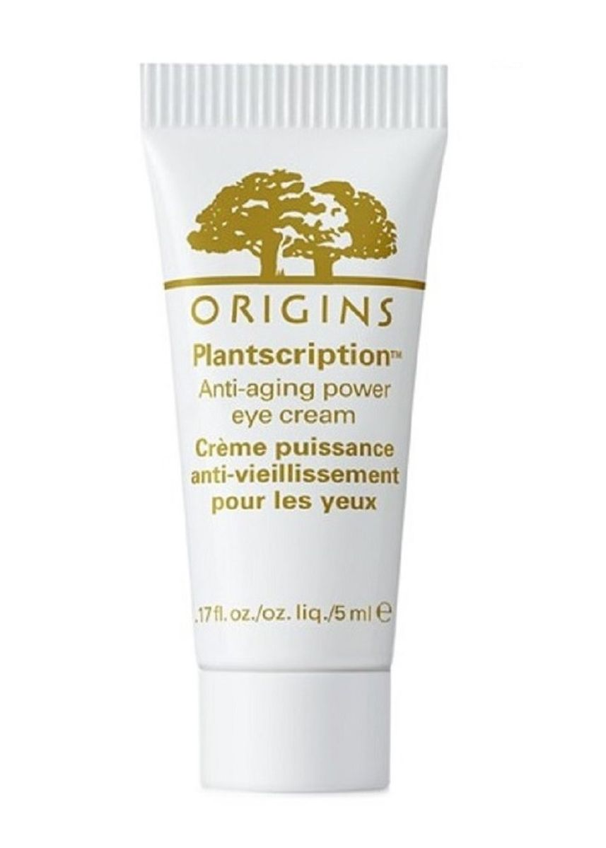 No Color color Anti-aging . Origins Plantscriptions Anti-aging Power Eye Cream 5ml (Travel Size) -