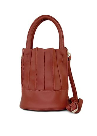 Red color Hand Bags . Shine Small Hand Bag -