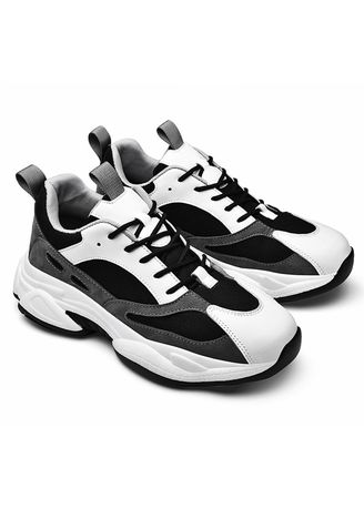 Black color Casual Shoes . Men's Japanese Harajuku Style Sneaker Shoes -