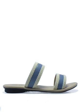 Sandals and Slippers . MARC & STUART Woven Sandals in Cream -