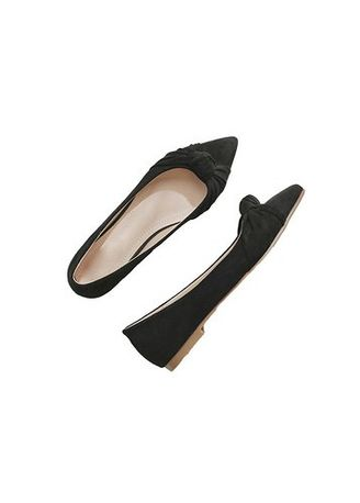 Black color Flats . FELICE -