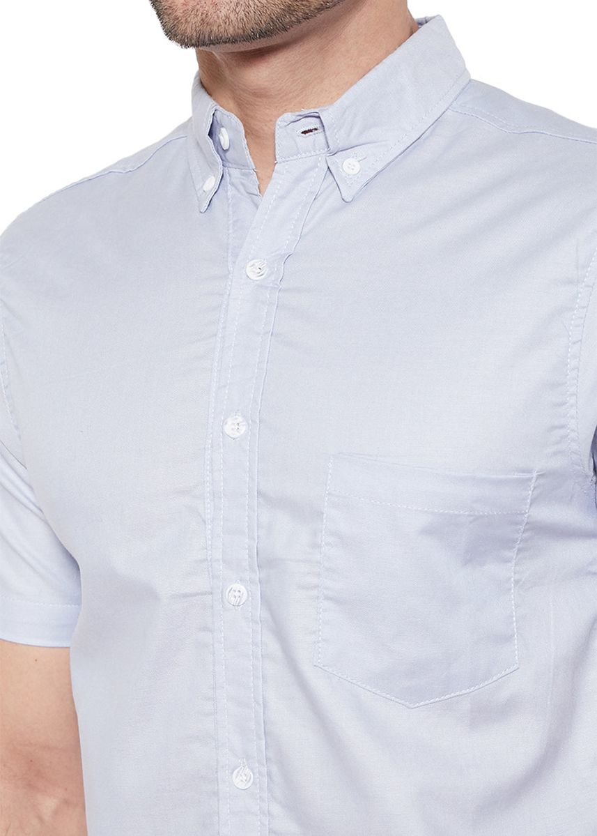 Blue color Casual Shirts . PAULMAY - Barry Shirts -