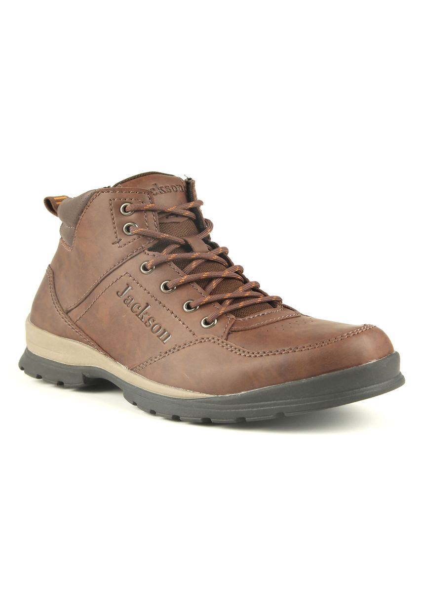 Tan color Sepatu Boot . JACKSON Wing 2JC -