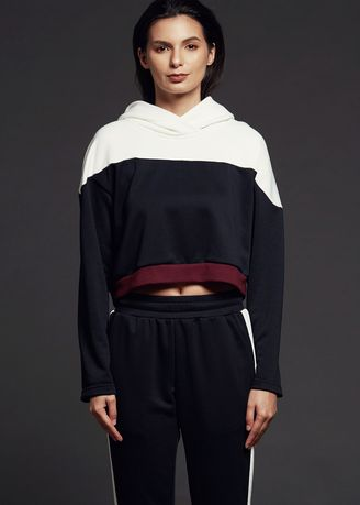 Multi color Sports Wear . AvelxAlden Axa Maiden Hoodie -