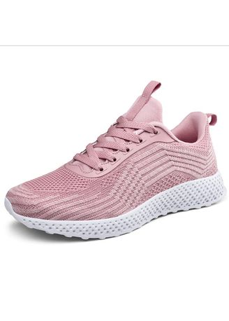 Pink color Casual Shoes . Student Net Shoes Trend Casual Sneakers -