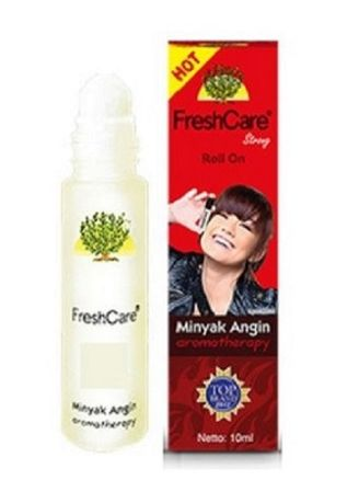Red color Personal Care . Freshcare Aromatherapy Roll On Ointment -