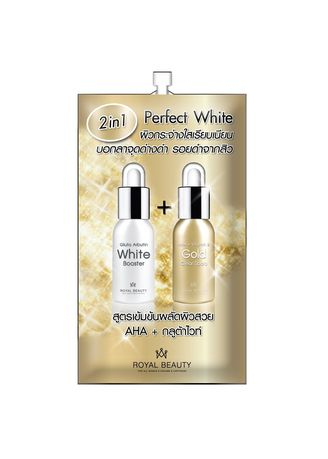 No Color color Whitening & Brightening . Royal Beauty Perfect White -