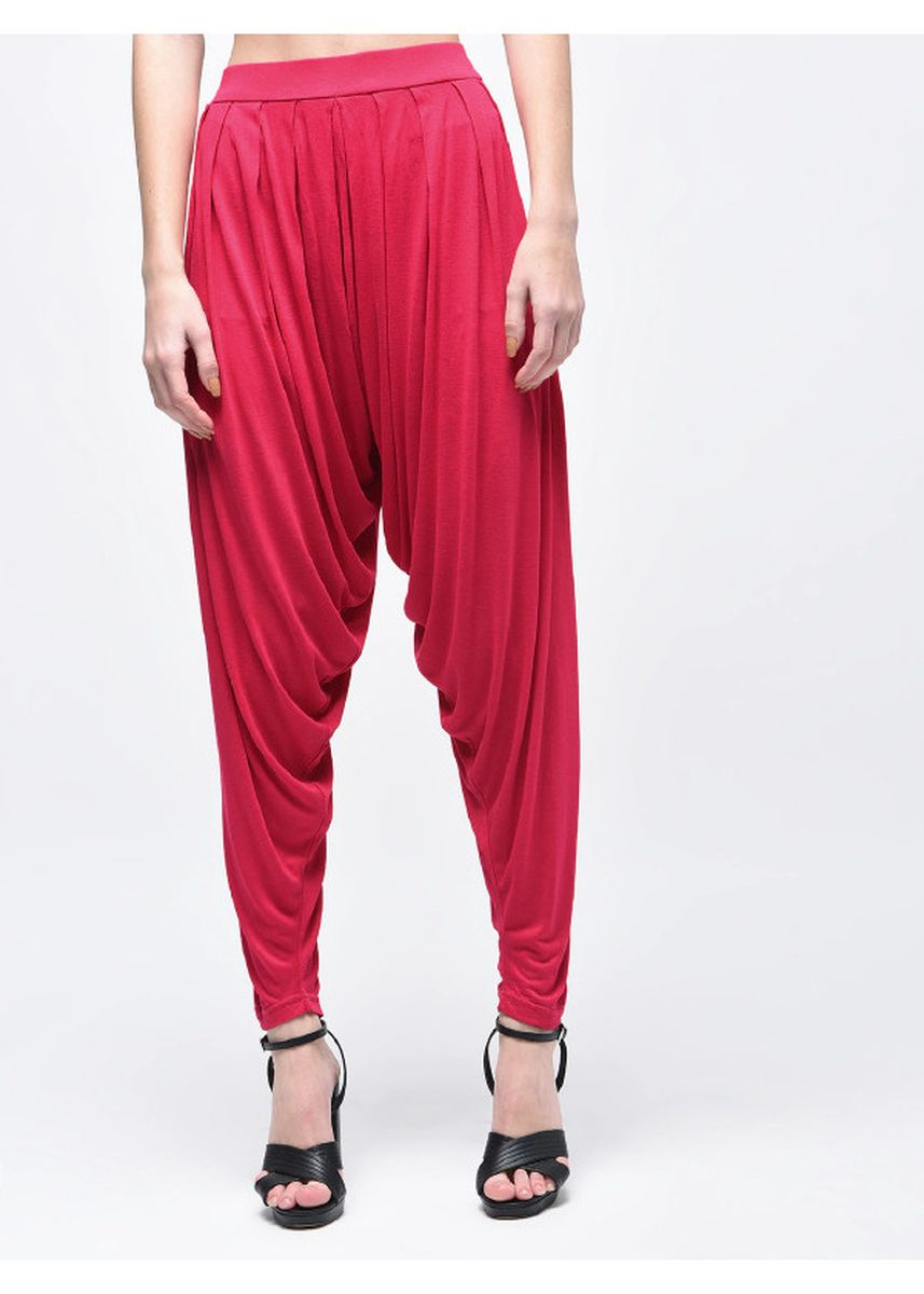Red color Leggings . Women's Red Palazzo -