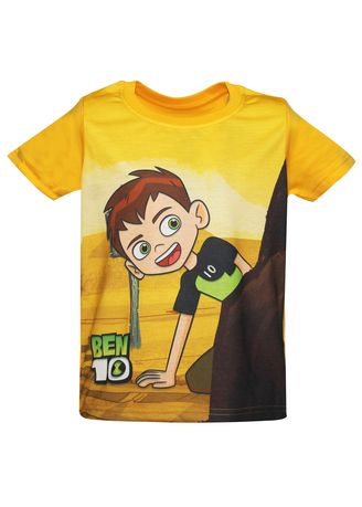 Yellow color Tops . T-Shirt 046 -