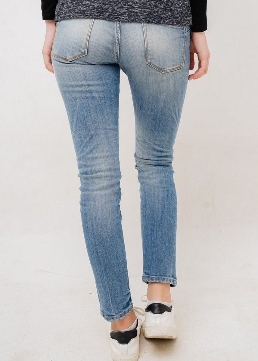 Blue color Jeans . Greenlight Women Denim Pants 031219 -