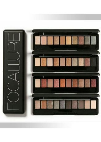 Multi color Mata . Focallure Eyeshadow - 01 SHADOW -