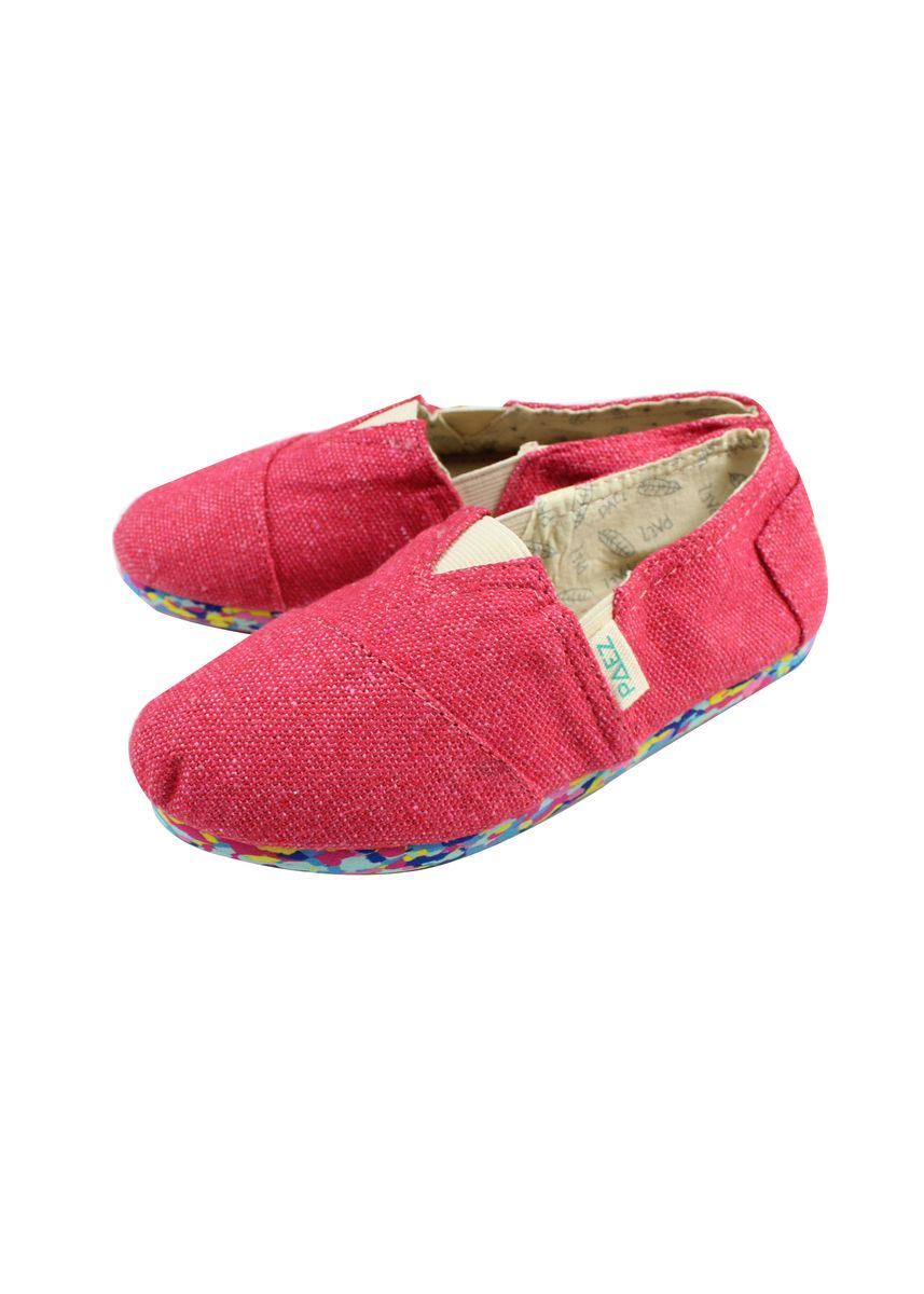 Red color Footwear . Paez Kid's Espadrille Shoes -
