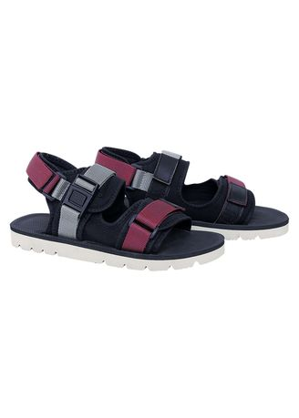 Black color Casual Shoes . Catenzo - SANDAL CASUAL PRIA -