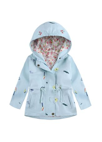 Jackets . Kid's Embroidered Coat -
