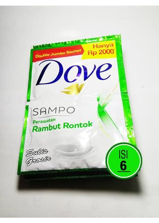 No Color color Shampoos & Conditioner . DOVE SHAMPOO SACHET IJO -