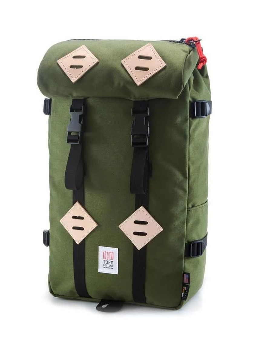 Olive color Rucksacks . Topo Designs Klettersack -
