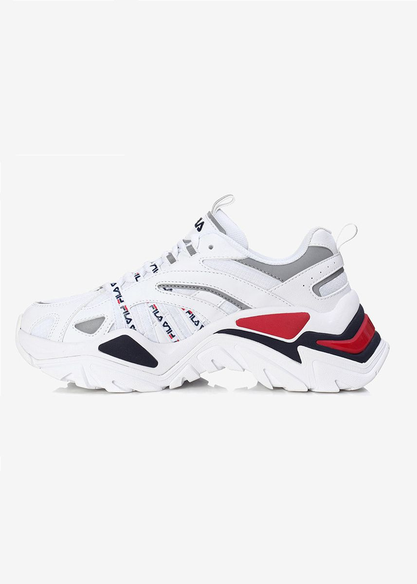 Red color Sports Shoes . FILA Interation Trail Sneakers -