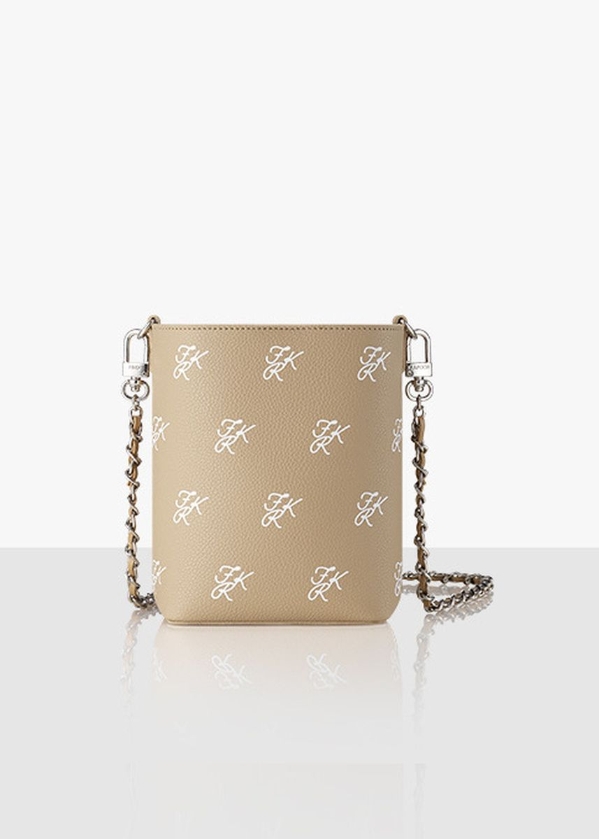Beige color Sling Bags . Find Kapoor Mini Pingo Pattern Chain Sling Bag -