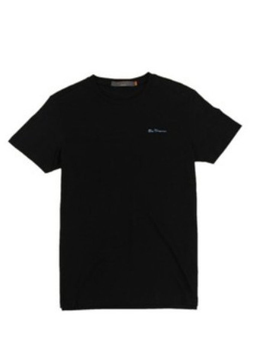 Black color T-Shirts and Polos . Ben Sherman Round Neck Shirt -