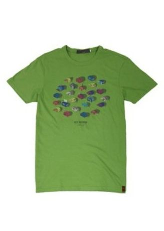 Green color T-Shirts and Polos . Ben Sherman Round Neck Shirt -