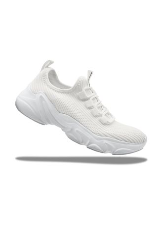 White color Casual Shoes . Krooberg Nitro Outdoor Shoes -