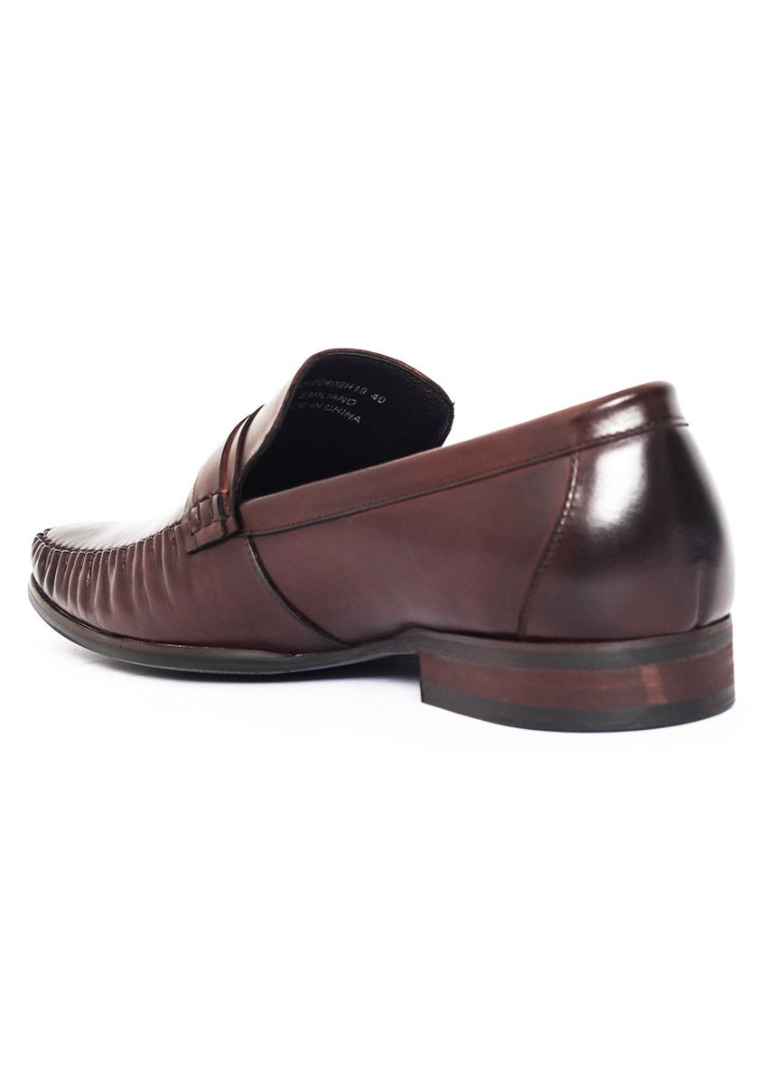 Brown color Formal Shoes . Gino Mariani Emiliano - Men's Formal Shoes -