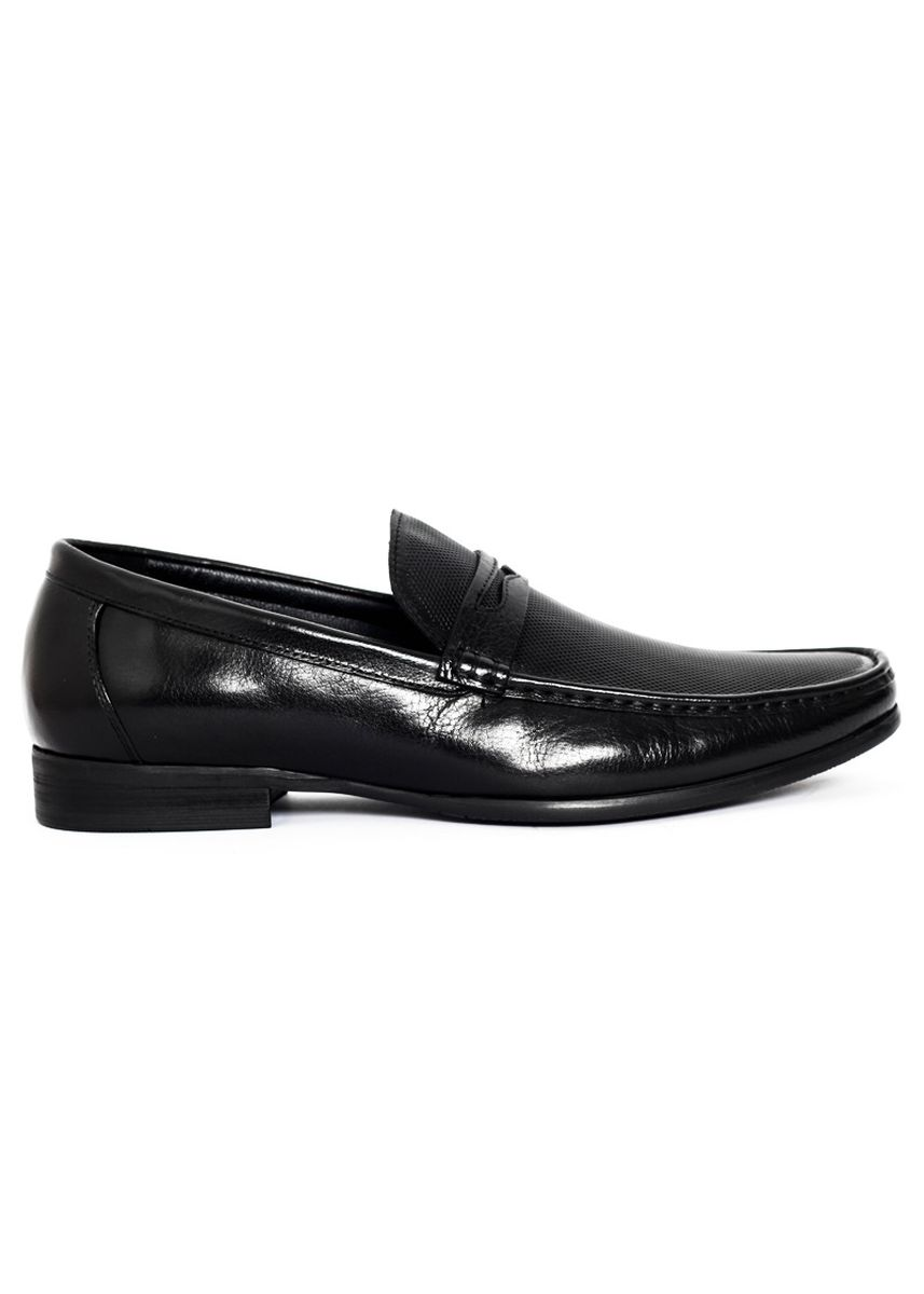 Black color Formal Shoes . Gino Mariani Emmanuel Black - Men's Formal Shoes -