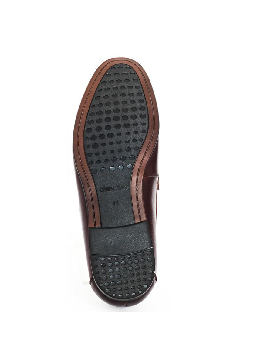 Brown color Formal Shoes . Gino Mariani Evans - Men's Formal Shoes -